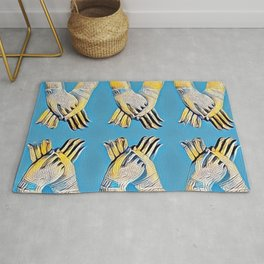 Summer Collection Hand Of The Deity Rug