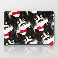 muppet iPad Cases featuring Muppet the Moustached Cat by EggsBFF