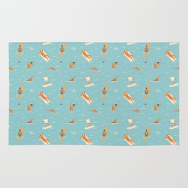 Blue Hawaii Rug