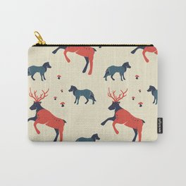 Reindeer in the Woodland Carry-All Pouch