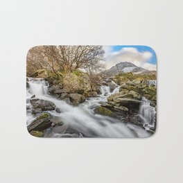 Trfan Mountain Rapids Bath Mat