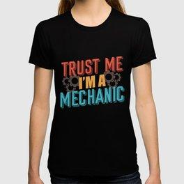 Mechanic saying T-shirt