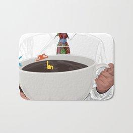 KeithHaring coffee Bath Mat