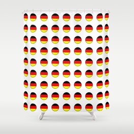 Flag of Germany 4 Shower Curtain