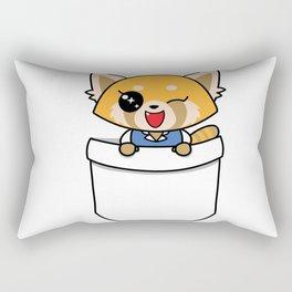 Happy Retsuko! Rectangular Pillow