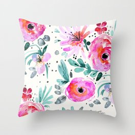 Colby Floral Throw Pillow