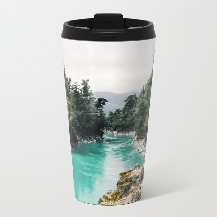 A River Runs Through It Metal Travel Mug