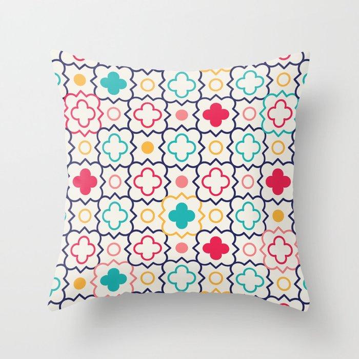 Cute Eastern Pattern Throw Pillow