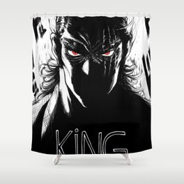 Hero King Shower Curtain