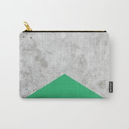 Concrete Arrow Green #175 Carry-All Pouch