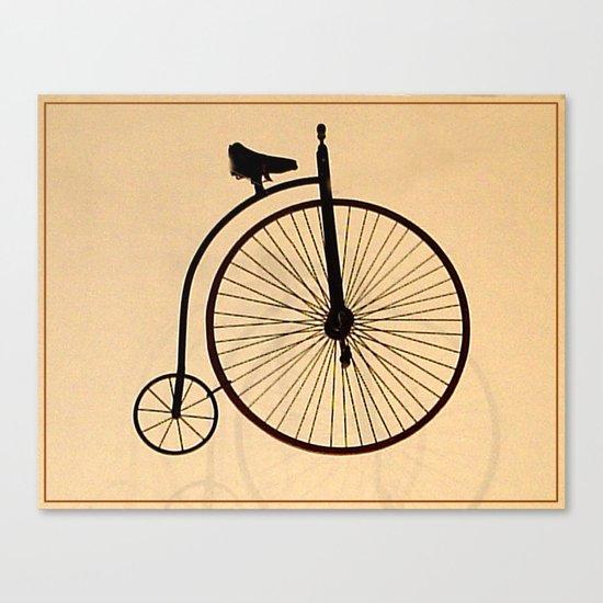 Speedy Bike Canvas Print