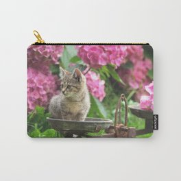 Little Tiger on the scales Carry-All Pouch
