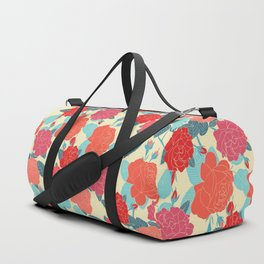 Rose Garden - Light Duffle Bag