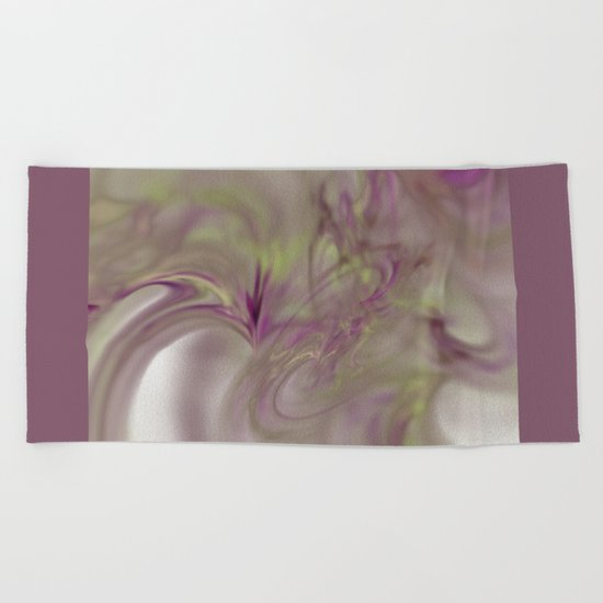 a play of love   (A7 B0235) Beach Towel