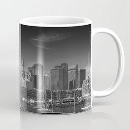 BOSTON Skyline North End & Financial District | Monochrome Coffee Mug
