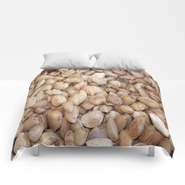 Harvested Almonds Comforters