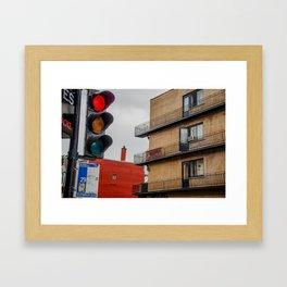 Open Door Framed Art Print