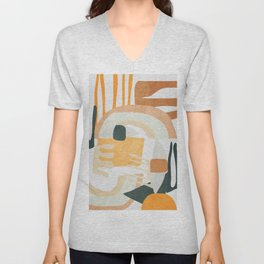 Abstract Art 10 Unisex V-Neck