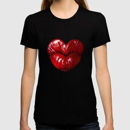 Heart Shaped Lips T-shirt