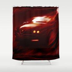 Flaming Alfa Gtv 916 Shower Curtain