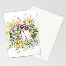 California Wreath Stationery Cards