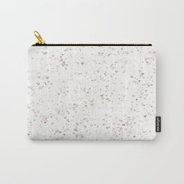 Love hearts on white Summer Chill Carry-All Pouch