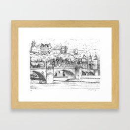 Heidelberg, Germany Framed Art Print