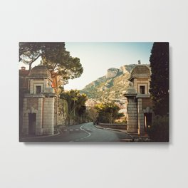 Streets of Monaco Metal Print