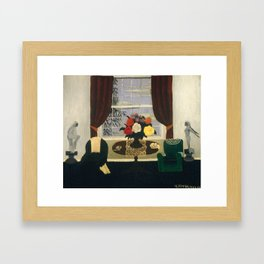Victorian Interior I by Horace Pippin, 1945 Framed Art Print