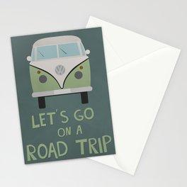 Road Trip Van Stationery Cards
