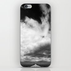 Stormy Road iPhone Skin