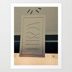 wavelengths Art Print