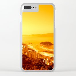 Costal Panorama Clear iPhone Case