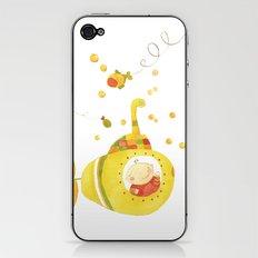 Baby's yellow submarine iPhone & iPod Skin