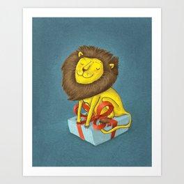 All the lion Art Print