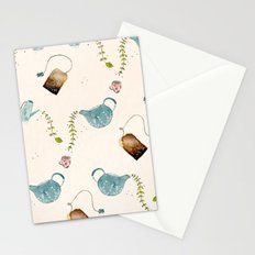 TEA PARTY PATTERN Stationery Cards