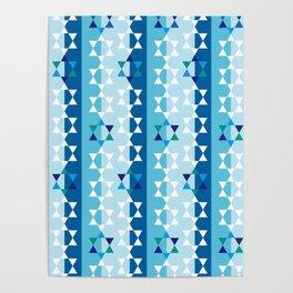 Hanukkah star of david Poster