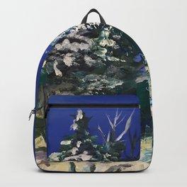 Forêt nordique d'hiver Backpack
