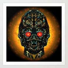 Sith Three Pe Oh Sacrifice Procurement Drone Art Print
