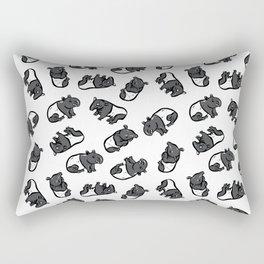 Malayan tapir Rectangular Pillow