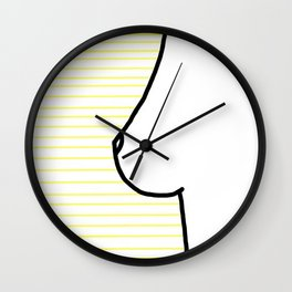 Citron Wall Clock