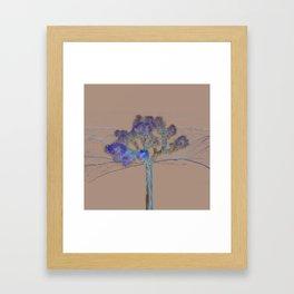 Joshua Tree Acid Wash by CREYES Framed Art Print