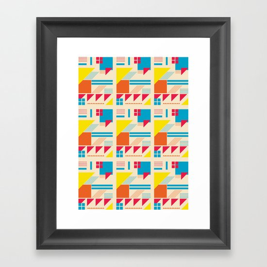 Simple Times. Framed Art Print