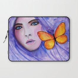 Purple Autumn Laptop Sleeve