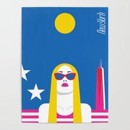 Stylish Journey - New York Poster