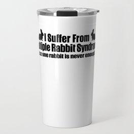 Multiple Rabbit Syndrome Travel Mug