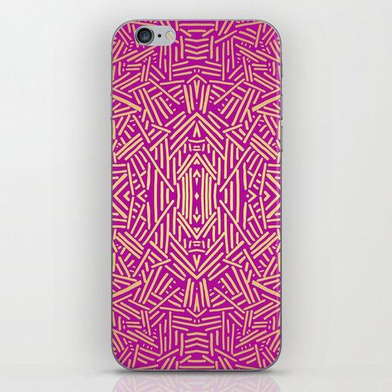 Radiate (Yellow/Ochre Raspberry) iPhone & iPod Skin