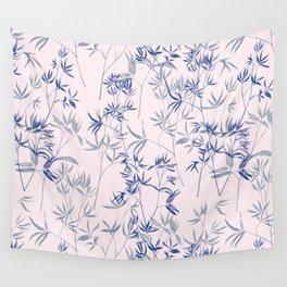 exotic blue Wall Tapestry
