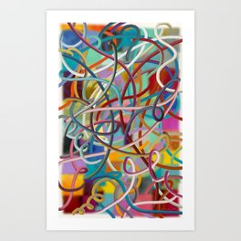Wired #1 Art Print