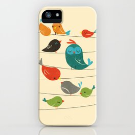 Colorful Birds iPhone Case